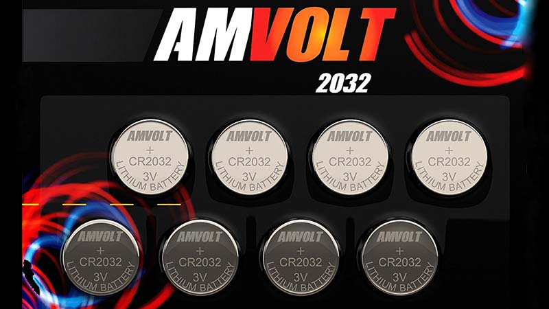 AmVolt size 2032 cr batteries provide reliable, long-lasting power for your devices. Unlike cheap imitations available in the market, our batteries are verified manufacturer quality and provide dependable service for up to two years, regardless the device they're used in. That means you can forget about batteries for quite a long time.