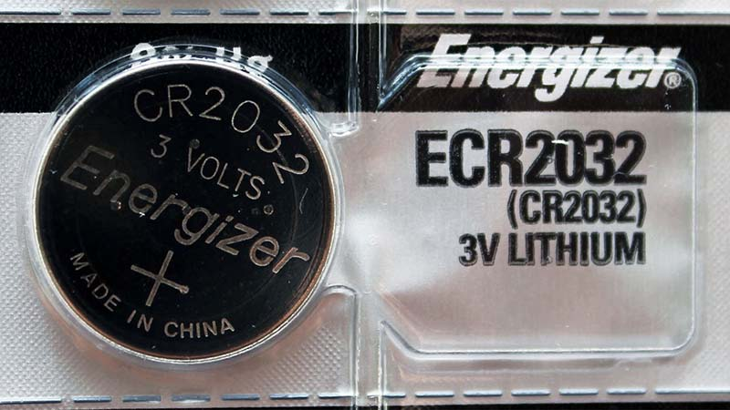 Energizer CR2032 Lithium 3v Coin Cell Button