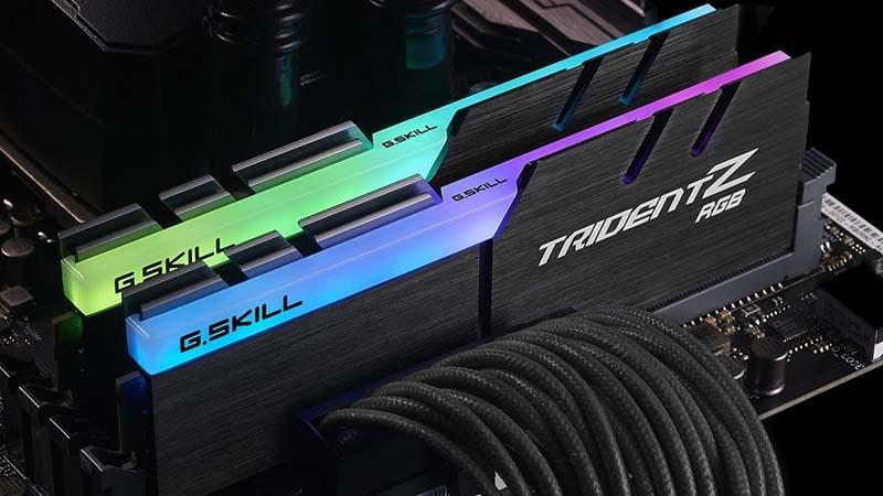 G.SKILL TridentZ RGB RAM Series