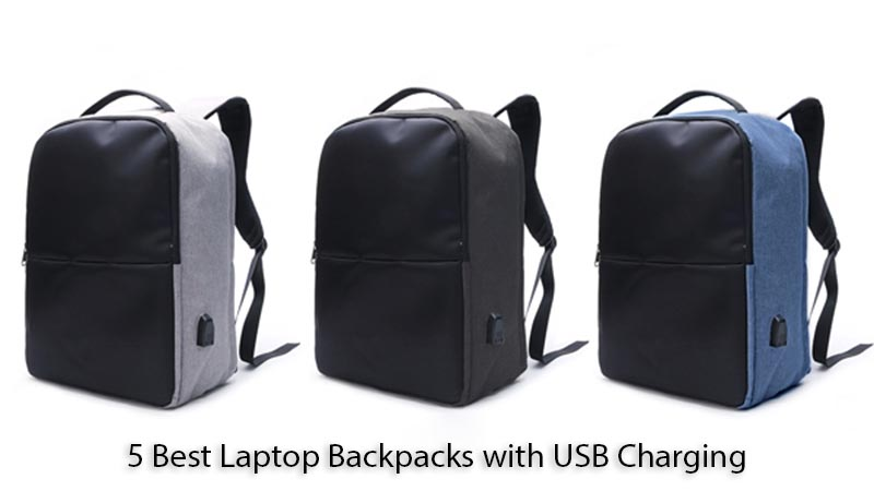 5 Best Laptop Backpacks with USB Charging