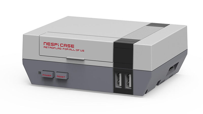 Mini Retroflag NESPi NES Style Case For Raspberry
