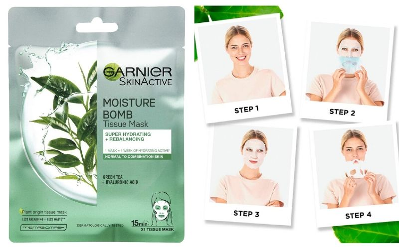 Garnier face wash & face pack review price