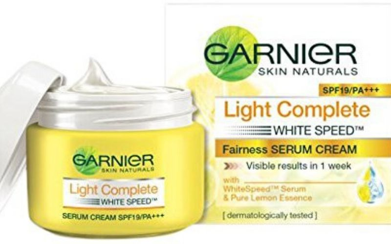 garnier face and beauty product for acne