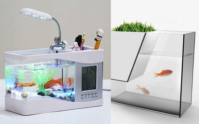 Best USB Desktop Mini Aquarium Table Organiser With Review